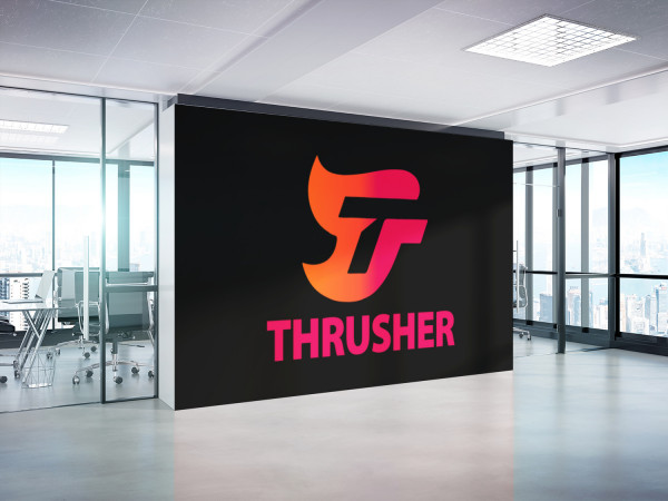 Sample branding #3 for Thrusher