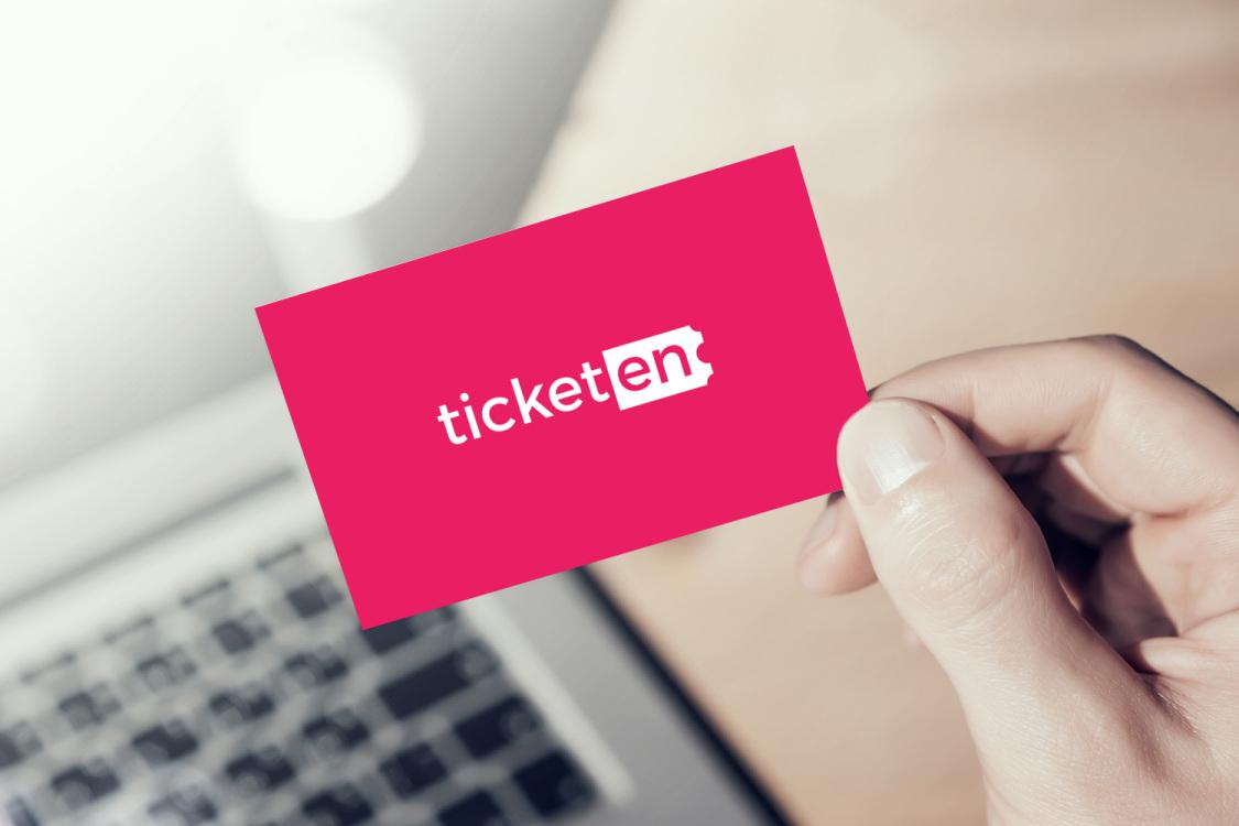 Sample branding #3 for Ticketen
