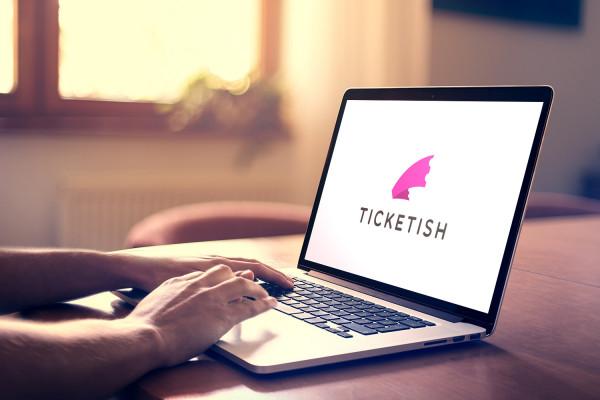 Sample branding #3 for Ticketish