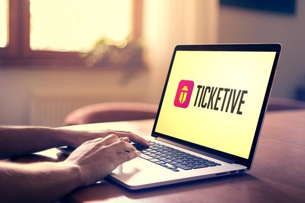 Sample branding #1 for Ticketive