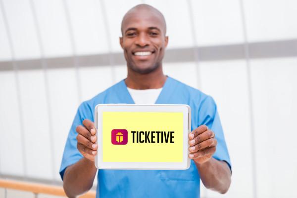 Sample branding #2 for Ticketive