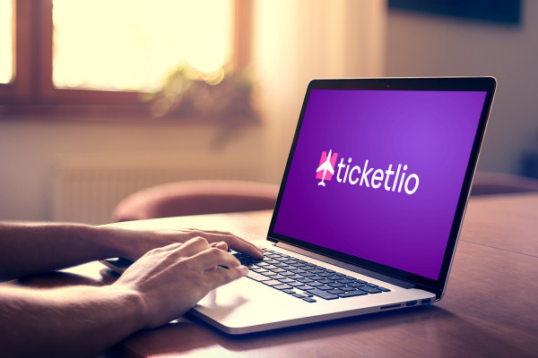 Sample branding #2 for Ticketlio