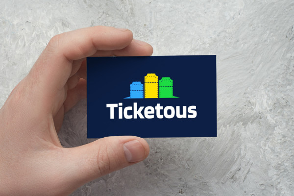 Sample branding #2 for Ticketous