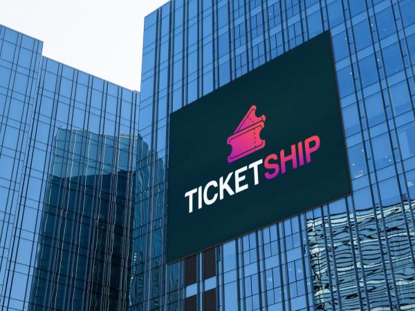 Sample branding #3 for Ticketship
