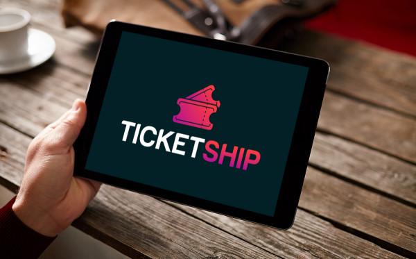 Sample branding #2 for Ticketship