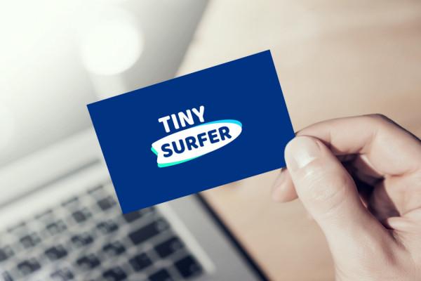Sample branding #2 for Tinysurfer