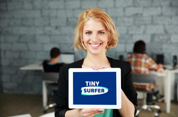Sample branding #1 for Tinysurfer