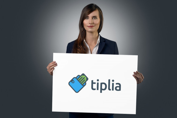 Sample branding #3 for Tiplia