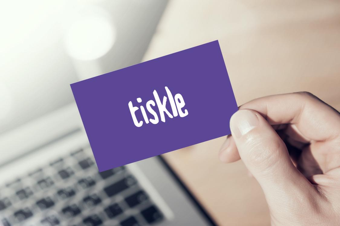 Sample branding #3 for Tiskle