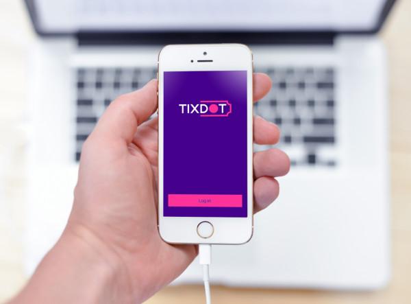 Sample branding #3 for Tixdot