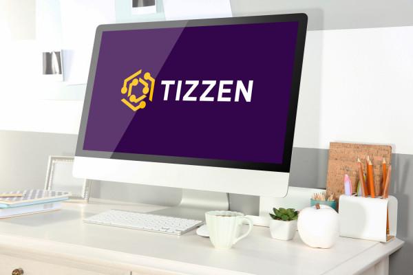 Sample branding #2 for Tizzen