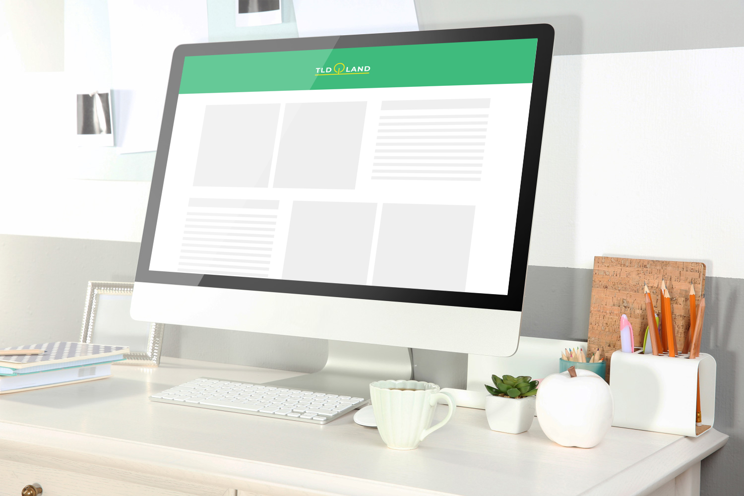 Sample branding #2 for Tldland