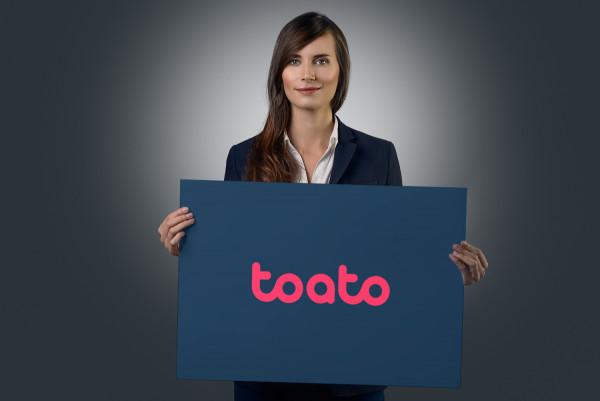 Sample branding #2 for Toato