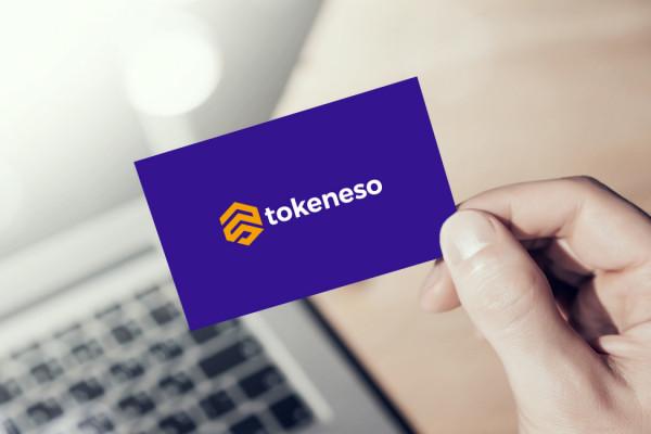 Sample branding #3 for Tokeneso