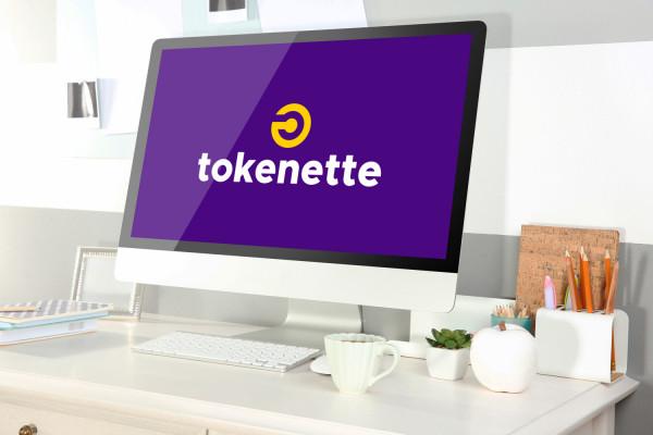 Sample branding #2 for Tokenette