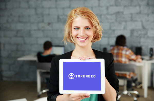 Sample branding #1 for Tokenexo