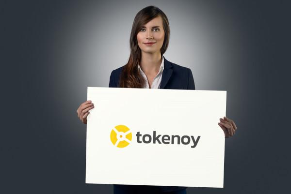 Sample branding #1 for Tokenoy