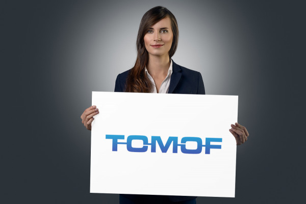 Sample branding #1 for Tomof