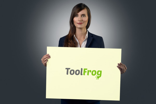 Sample branding #1 for Toolfrog