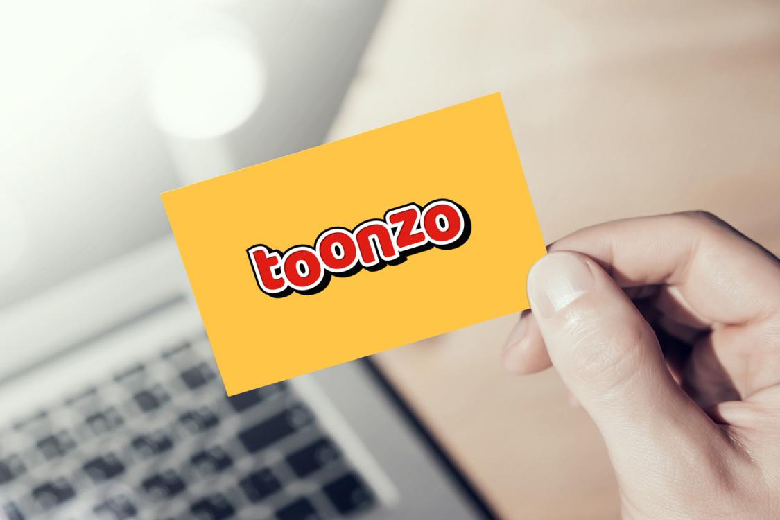 Sample branding #2 for Toonzo
