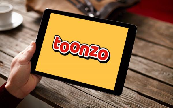 Sample branding #3 for Toonzo