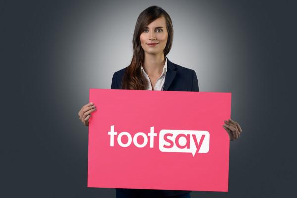 Sample branding #2 for Tootsay
