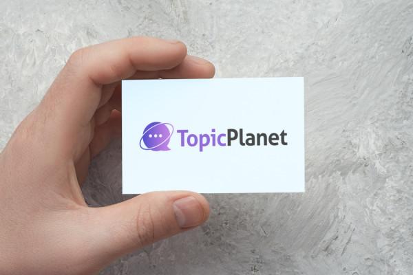 Sample branding #1 for Topicplanet
