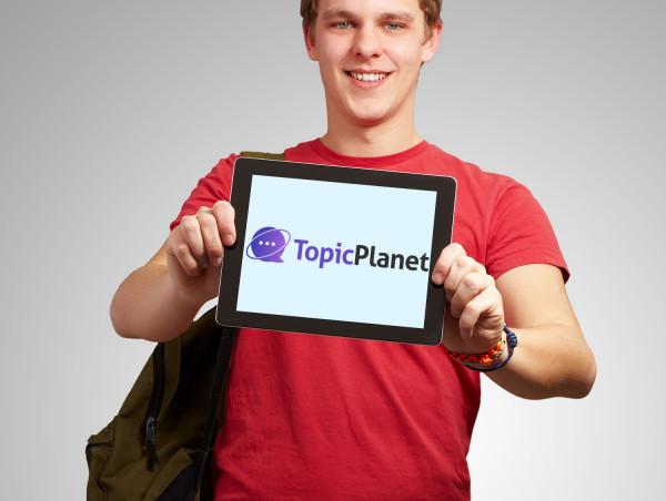 Sample branding #2 for Topicplanet