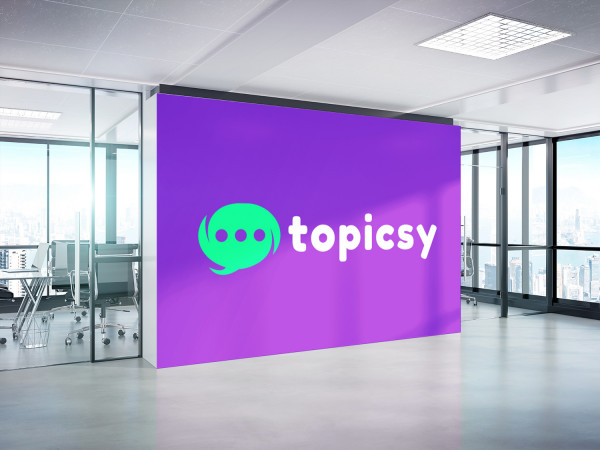 Sample branding #2 for Topicsy
