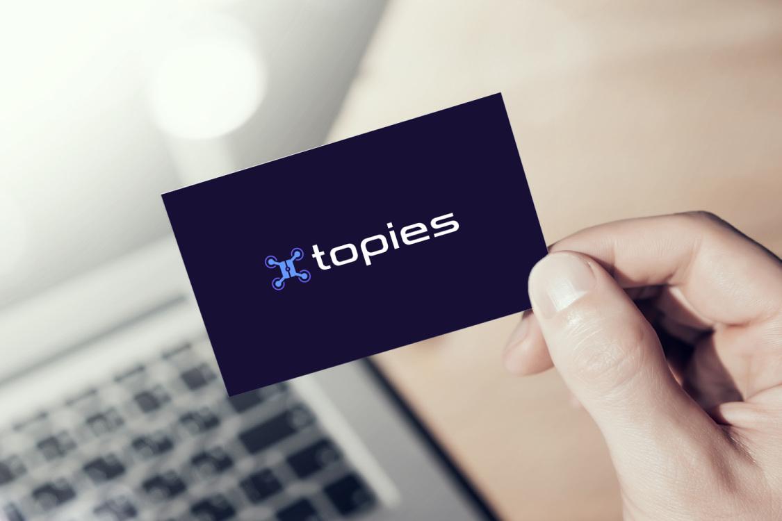 Sample branding #2 for Topies
