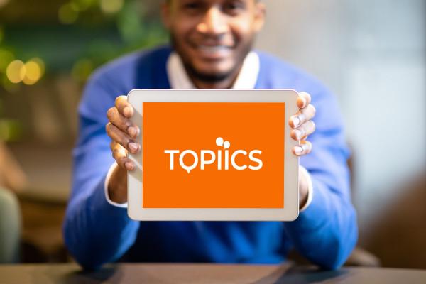Sample branding #1 for Topiics