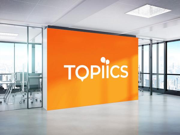 Sample branding #3 for Topiics