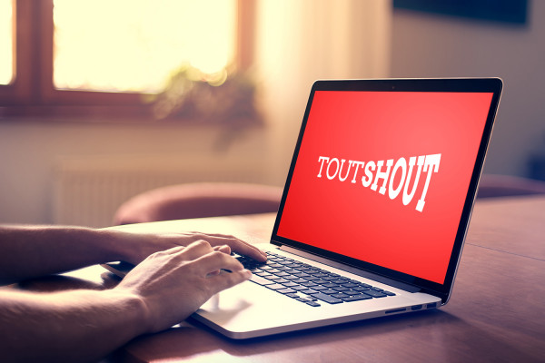 Sample branding #1 for Toutshout
