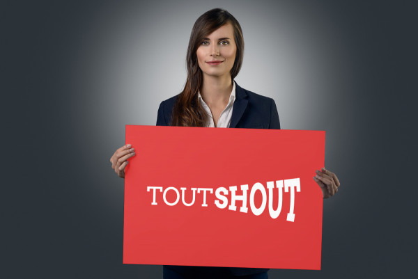 Sample branding #2 for Toutshout