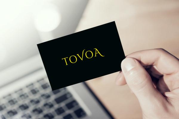 Sample branding #3 for Tovoa