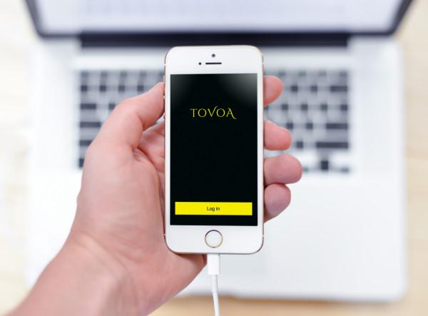 Sample branding #1 for Tovoa