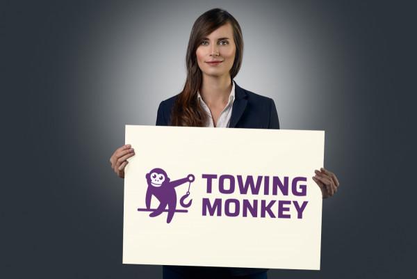 Sample branding #2 for Towingmonkey