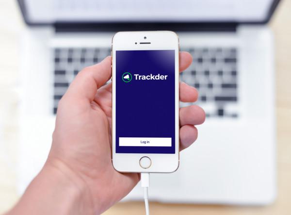 Sample branding #2 for Trackder