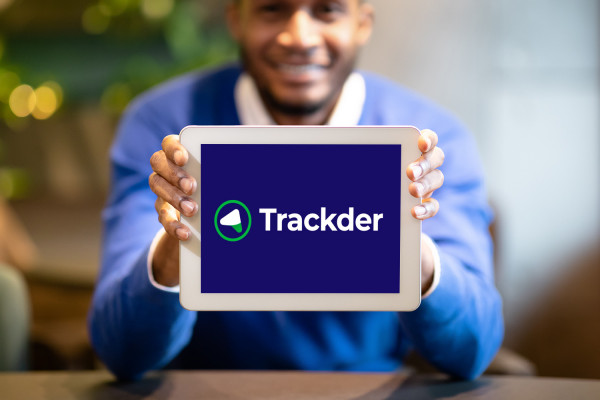 Sample branding #3 for Trackder