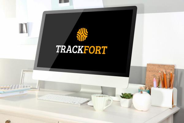Sample branding #1 for Trackfort