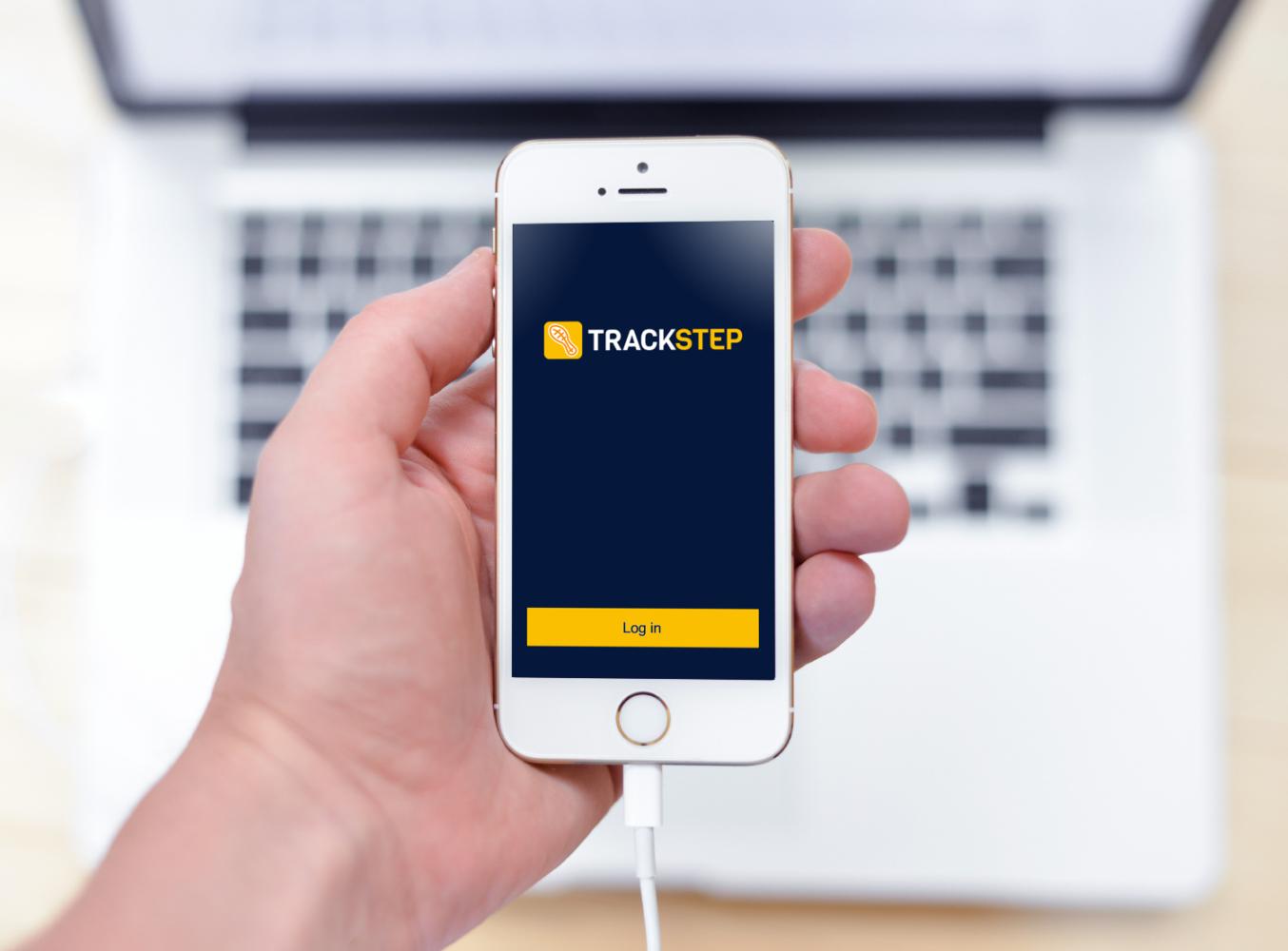 Sample branding #1 for Trackstep