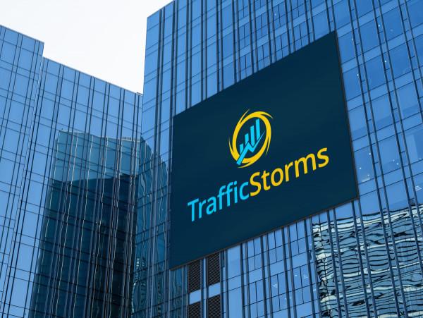 Sample branding #1 for Trafficstorms