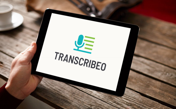 Sample branding #2 for Transcribeo