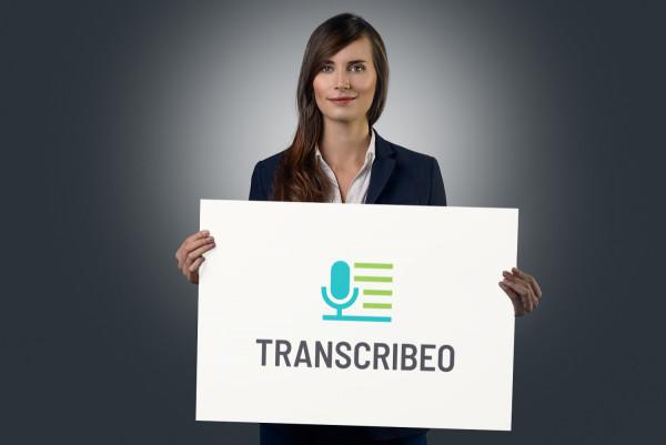 Sample branding #1 for Transcribeo