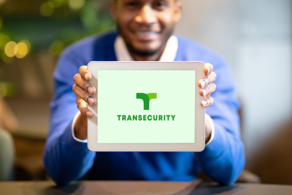 Sample branding #2 for Transecurity