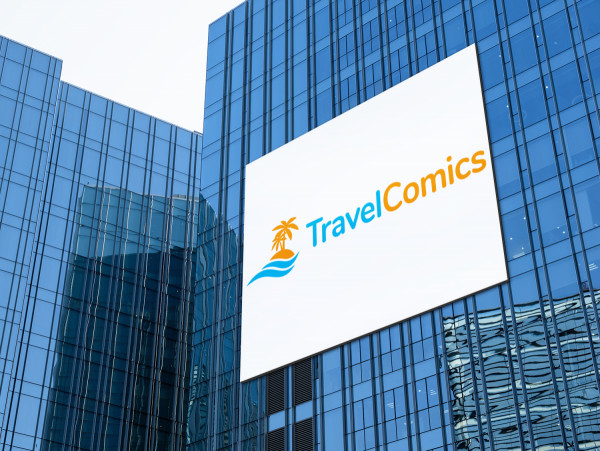 Sample branding #1 for Travelcomics