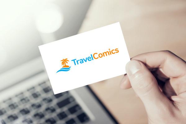 Sample branding #2 for Travelcomics