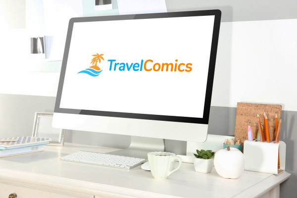 Sample branding #2 for Travelcomics