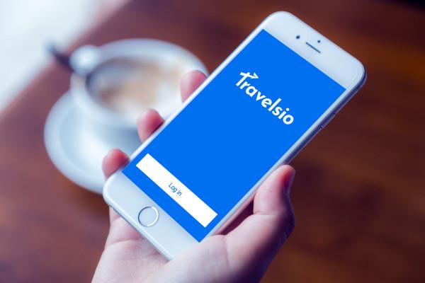 Sample branding #3 for Travelsio