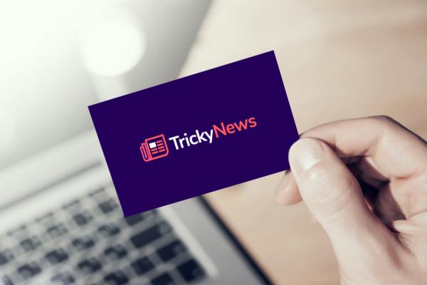 Sample branding #2 for Trickynews